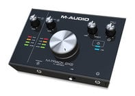 M-Audio M-TRACK-2X2 2-In / 2-Out, 24 / 192 USB Audio Interface, C-Series