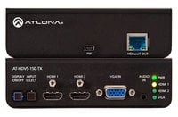 Three Input HDMI/VGA Switcher with HDBaseT Output