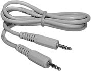 Philmore 70-005B MediaStar Stereo Cable 3 ft. Multimedia Cable with 3.5mm Stereo Connectors (Bulk Packaging)