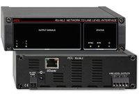 RDL RU-NL2  Network to Line Level Interface, Dante Input, 2 Balanced Outputs