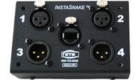 ETS InstaSnake PA204M Passive Network Audio Snake, (2) XLR-M + (2) XLR-F to RJ45 Jack