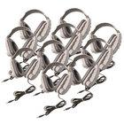 Classroom 10-Pack of Odyssey Stereo Binaural Headphones
