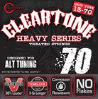 "Cleartone 9470-CLEARTONE 013""-.070"" Drop C Electric Guitar Strings"