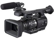 Panasonic AJ-PX230PJ microP2 Handheld AVC-ULTRA HD Camcorder with 22x Zoom, in Black