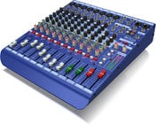 Midas DM12  12 Input Analogue Live And Studio Mixer With MIDAS Microphone Preamplifiers DM12