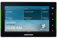 "Crestron TSS-752 Smooth Black 7"" Room Scheduling Touch Screen"