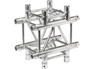 Global Truss SQ4133-BLK  SQ-4133 1.64 ft. 4-Way Cross Square Truss Junction