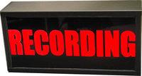 "12V DC LED ""RECORDING"" Studio Warning Light"