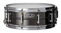 "Pearl Drums STA1450BR Sensitone 14""x5"" Snare Drum, Beaded Black/Brass"