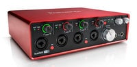 Focusrite Scarlett 18i8 (2nd Gen) 18x8 USB 2.0 Audio Interface