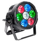 7x 15 Watt RGBW Quad LED ACL Par Light