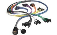 75 ft 8 Channel FM Series Inline Multipin/Fanout Snake with W2IF Multipin Connector, No Returns