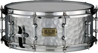 "Vintage Hammered Steel Snare Drum, 5.5""x14"""
