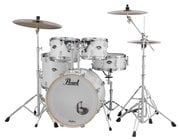 EXX Export Series 5-Piece Drum Kit with Hardware in Pure White Finish
