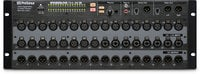 32-channel, Touch-Software Controlled, Rack-Mount Digital Mixer