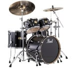 4-Piece Session Studio Classic Shell Pack, Piano Black Finish