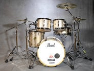 5-Piece Shell Pack C361 in Vintage Copper Sparkle Finish with Gator Elite Air Cases