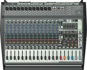 Power Mixer, 20 Channel (12 Mono + 4 Stereo), 2 x 800W Stereo or Dual Mono, 1600W Bridged Mono