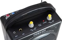 Rechargeable Portable PA System with Microphone