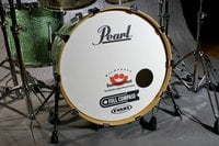 4-Piece Shell PackC348 in Absinthe Sparkle Finish with Gator Elite Air Cases