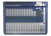 22-Input Analog Mixer with Onboard Effects and 2x2 USB Interface