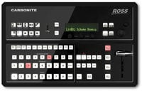 Ross Video Ltd Carbonite Black Solo 1 M/E All-in-One 3G Live Production Video Switcher