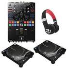 DJ Bundle That Includes (2) PLX-1000, DJM-S9, and HF325