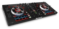 Four Channel DJ Controller With Jog Wheel Display