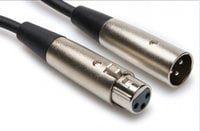 Cable, XLR Female to XLR Male, Balanced, 3 ft