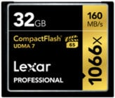 2-Pack of Professional CompactFlash® 32GB Cards
