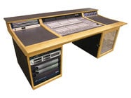 Sound Construc.& Supply C|24S1-2 Straight Console 1-2 Desk for Avid C24