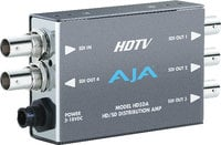 AJA Video Systems Inc HD5DA HD/SD-SDI Distribution Amplifier/Repeater with Power Supply HD5DA