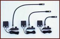 """Littlite L1/12 12"""" Detachable Gooseneck Lamp, dimmer, transformer, base"""