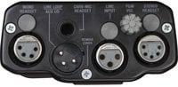 2-Channel Beltpack for Two-Wire Intercom Systems in Black