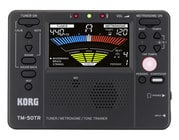 Korg TM50TRBK Tuner / Metronome / Tone Trainer, Black
