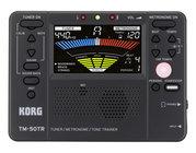 Korg TM-50TR Tuner / Metronome / Tone Trainer, Black