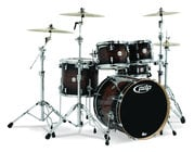 5-Piece Concept Maple Exotic, Charcoal Burst Finish, Walnut Chrome Hardware