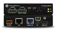HDBaseT Scaler with HDMI and Analog Audio Outputs