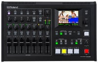 6-Input, 4-Channel HD All In One AV Mixer with Streaming or Recording