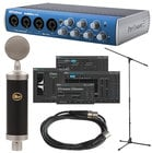 Audiobox with Bluebird Cardioid Condenser Microphone with Accessories