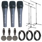 3-Pack Microphone Bundle