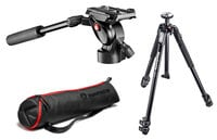 BeFree Fluid Head with 190 XTRA Carbon Composite Tripod and Carry Bag