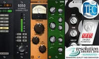 6050 Ultimate Channel Strip, Analog Channel, and 4040 Retro Limiter Bundle