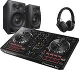 Pioneer PK-STP02 DJ Starter Pack with DDJ-RB, Monitors and Headphone
