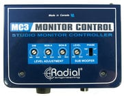 Radial Engineering MC3 Studio Monitor Controller MC-3