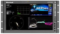 "Marshall Electronics V-R173-DLW-DT  17"" Native HD Resolution IMD LCD Rack Mount Monitor"