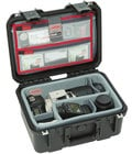 SKB Cases 3i-1309-6DL  iSeries 1309-6 Case with Think Tank Designed Photo Dividers & Lid Organizer 3i-1309-6DL