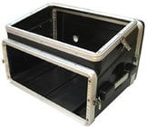 Gator Cases GRC-6X4 Slant Top Console Rack Case (6 RU Top, 4 RU Bottom)