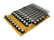 Behringer Q04-B1S00-02000 Left Fader Bank PCB Assembly for X32 (New Version)