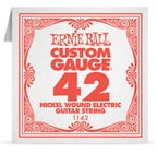 "Ernie Ball P01142 .042"" Nickel Wound Electric Guitar String P01142"